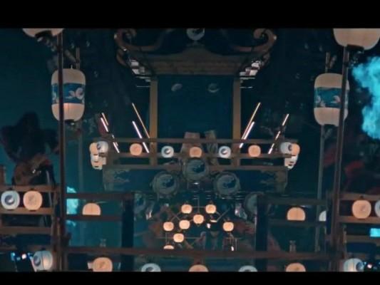 百事可乐在日本的广告主题《百鬼宴》,浓浓的东赢鬼风