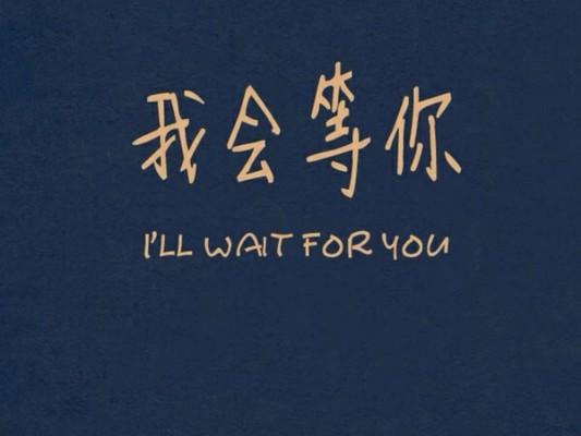 我在家中等你