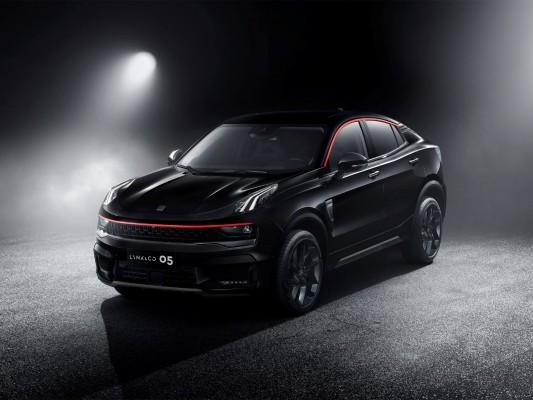 详解领克05时间限量版,首款领克Coupe车型,全系价格区间为18—22万元